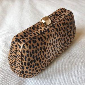 Rebecca Minkoff Leopard Bag, Detachable gold chain